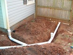 PVC pipe is the best product for gutter drainage.  It is much less likely to clog than the corrugated black plastic pipe that is often used.  Installing clean-outs is also a good practive.