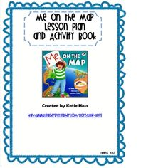 Me on the Map Lesson Plan and Activity Book – Jessica Bergeson – Audioroom Social Studies Lesson Plans, Social Studies Activities, Teaching Social Studies, Student Teaching, Book Activities, Library Lessons, Reading Lessons, Writing Lessons, Classroom Map