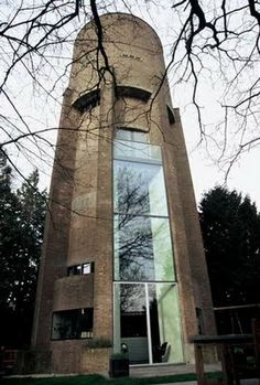 adaptive reuse: soest netherlands: zecc architecten « HAUTE NATURE - water tower converted to 9-level residence
