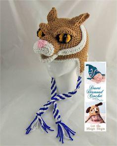 Crochet Pattern 079  University of Kentucky by desertdiamond, $5.95