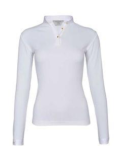 Dada Sport | Turniershirt WINNINGMOOD long-sleeve in Weiß