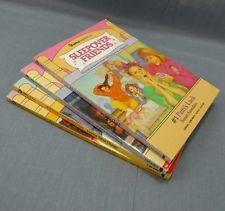 Sleepover Friends Lot of 4 Paperback Books Susan Saunders Sleep Over Collection
