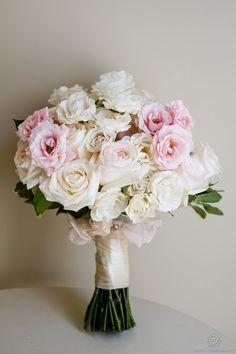 Muskoka wedding bouquet Pink & White