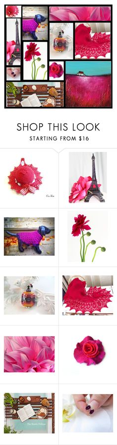 """""""Magenta Me"""" by inspiredbyten ❤ liked on Polyvore"""