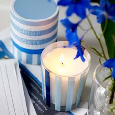 Homemade Candle Decors One of the best ways to decorate home ambiance by presenting a homemade gift is jar candles which can be easily made with beeswax, wicks and glass jars, and you can buy as well. They are wonderful to create an environment of celebration on a dining table and will also look mesmerizing while twinkling on glass shelves in living area.