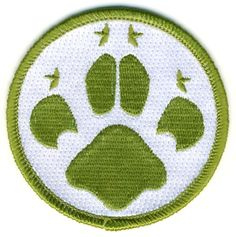 Cubs Embroidered Paw Print Fun Badge Scout Clothing, Scout Store, Cub Scouts, Badges, Cubs, Kids Rugs, Blanket, Sewing, Shopping