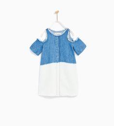 TIE-DYE DENIM DRESS-DRESSES-GIRL | 4-14 years-KIDS-SALE | ZARA United States