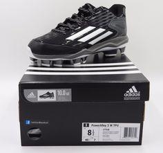 Adidas PowerAlley 3 TPU Low Softball Cleats (Molded) C77530BlackWomen's 8.510