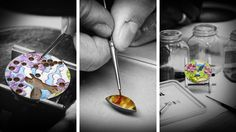 The art of the watch making by Van Cleef & Arpels – Champlevé Enamel