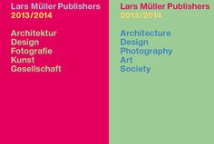 Featured in our online book fair: Lars Müller Publishers is an internationally active publishing house. It came into being in Baden, Switzerland, in 1983, as a result of the bibliophile passion of designer Lars Müller. The press has made a worldwide name for itself – and not just in specialist fields – with carefully edited and designed publications on architecture, design, and contemporary art.