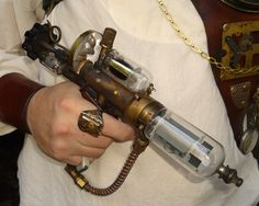 OOAK Steampunk PISTOL machine age WAREHOUSE 13 victorian upcycled industrial