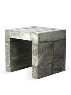 Recycled End Table by Zentique on Gilt Home