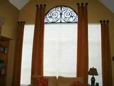 Window Treatments by Melissa: Ask Melissa: How To Dress an Eybrow Window or Half Circle Window