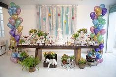 Aniversário infantil com tema carrossel - Constance Zahn