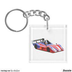 racing car keychains