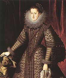 Margaret of Austria (1584 - 1611). Queen of Portugal from 1598 to her death in 1611. She was married to Philip III of Spain.