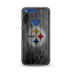 Pittsburgh Steelers NFL Logo Dark Wood Wallpaper Google Pixel Case – Miloscase Google Pixel Xl Phone, Pixel Phone, Dark Wood Wallpaper, Nfl Logo, Pittsburgh Steelers, Phone Cases, Logos, Prints, Logo