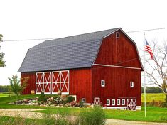 Wooden Barn, Country Barns, Barn Houses, Pole Barns, Red Barns, Covered Bridges, Rustic Charm, Lovely Things, Noodle