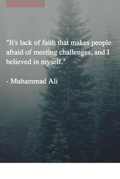 """""""It's lack of faith that makes people afraid of meeting challenges, and I believed in myself.""""  #MotivationQuotes #Motivation"""
