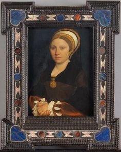 Portrait of an English Woman, ca. 1540-1543 (Hans Holbein the Younger) (1497-1543) Kunsthistorisches Museum, Vienna