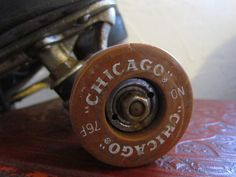 Vintage men's Chicago Roller Skates by glamtownvintage on Etsy, $32.00