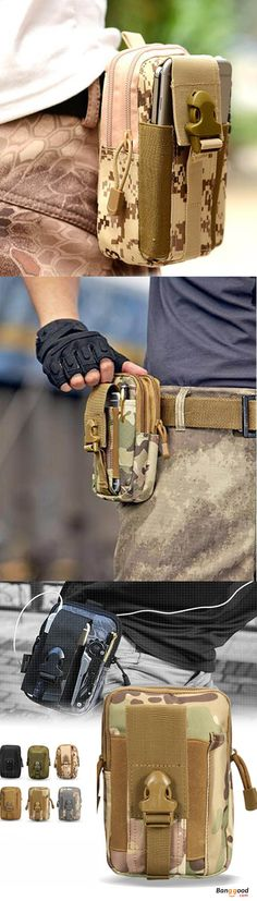 US$7.99 + Free shipping. A cool addition travel gear. Can carry mobiles, pens, cigarettes, wallets, carabineers and other camping items.  Great for outdoors, tactical sports, hiking, climbing, EDC use and etc. Waist Pack Bag, Belt Bag, Fanny Pack, EDC Bag, Smart Phone Wallet.