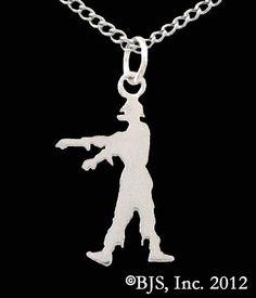 Zombie Silhouette Necklace in Sterling Silver -Zombie Jewelry Badali Jewelry,http://www.amazon.com/dp/B0085C15Z4/ref=cm_sw_r_pi_dp_IiA7sb0RFPHFN9NT