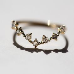 Marriage ceremony ring to fit with the engagement ring
