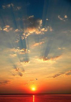Crepuscular Rays - One of our Favorite Pinterest Boards