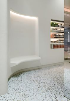 aesop store at Galaxy Macau, Macau » Retail Design Blog #terrazzo Learn more about terrazzo at www.terrazzco.com