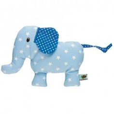 Baby Charms Blue Elephant Rattle - Funky Baby Gift - Spotted at Not Another Baby Shop Little Elephant, Baby Elephant, Baby Rattle, Baby Online, Backrest Pillow, Online Gifts, Baby Shop, Little Babies, Baby Toys
