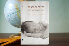 Baby Firsts Journals by lehan paper design at minted.com