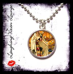 Witch Jewelry  Vintage Witch Necklace SR B  by LaughingVixenLounge, $12.00