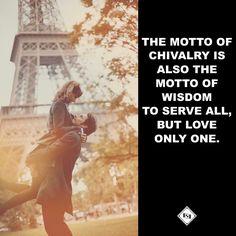 Chivalry www.gentlemans-essentials.com Gentleman Quotes, True Gentleman, Love Only, Chivalry, Alpha Male, Daily Quotes, Daily Inspiration, Motto, Fun Stuff