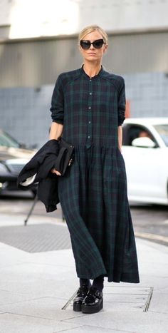 London Style - Loose Plaid