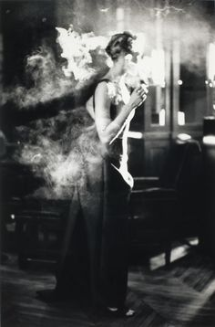 Pamela Hanson - Smoker, Paris, 1993