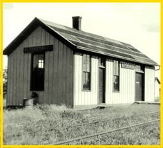 Blytheswood, ONTARIO - NEW YORK CENTRAL RAILROAD DEPOT - P1943 - edited