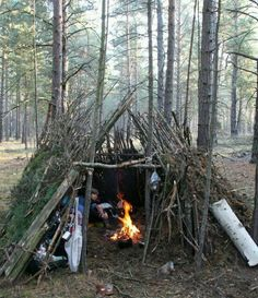 Nice lil camping shelter.
