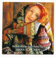Sirkka Könönen design. Just lovely, but unable to find any patterns. This is an old design (2007) so also unable to find anyone selling the finished sweater.