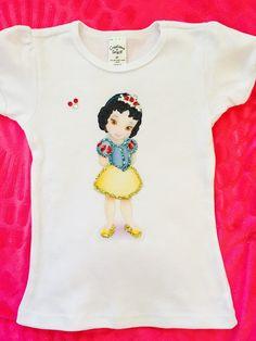 Disney personalized toddler princess shirts by MacyBellescloset