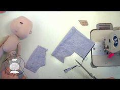 МК: пошив одежды для куклы - YouTube