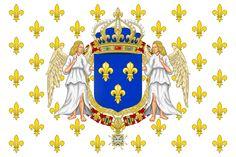 Drapeau royal de France