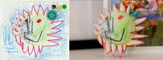 Turn your kids drawings into figurines