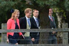 Pippa, William et Harry, mariage dans la haute-société.