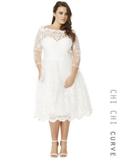 Search results for: 'chi chi curve flora dress' Wedding Dress Over 40, Second Wedding Dresses, Tea Length Wedding Dress, Tea Length Dresses, Wedding Dresses Plus Size, Boho Wedding Dress, Bridal Dresses, Wedding Gowns, Midi Dress With Sleeves