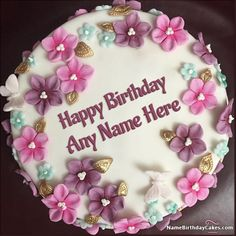 An Awesome Way To Wish Birthday Friends And Beloved Ones Get Free Happy Cake Pictures With Name Photo Make Feel Them Extra Special
