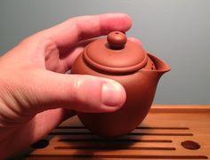 Equilibrium Gaiwan Style Yixing Pot