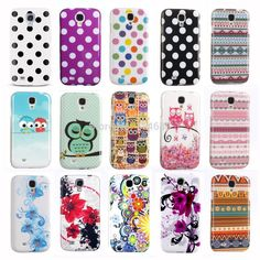Cool IMD TPU Silicone Phone Case for Samsung Galaxy S IV S4 LTE+ VE i9500 i9502 i9505 i9506 i9515 Cover Polka Dots Owl Design