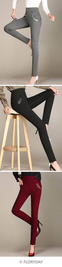 Buy Pants & Leggings, Online Shop, Women's Fashion Pants & Leggings for Sale Casual Fall Outfits, Stylish Outfits, Casual Wear, Legging Outfits, Fashion Pants, Fashion Outfits, Womens Fashion, Girl Outfits, Fashion Clothes