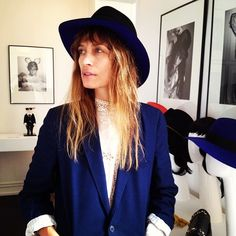 carolinedemaigret: Went to check the S/S collection of Maison Michel. Love